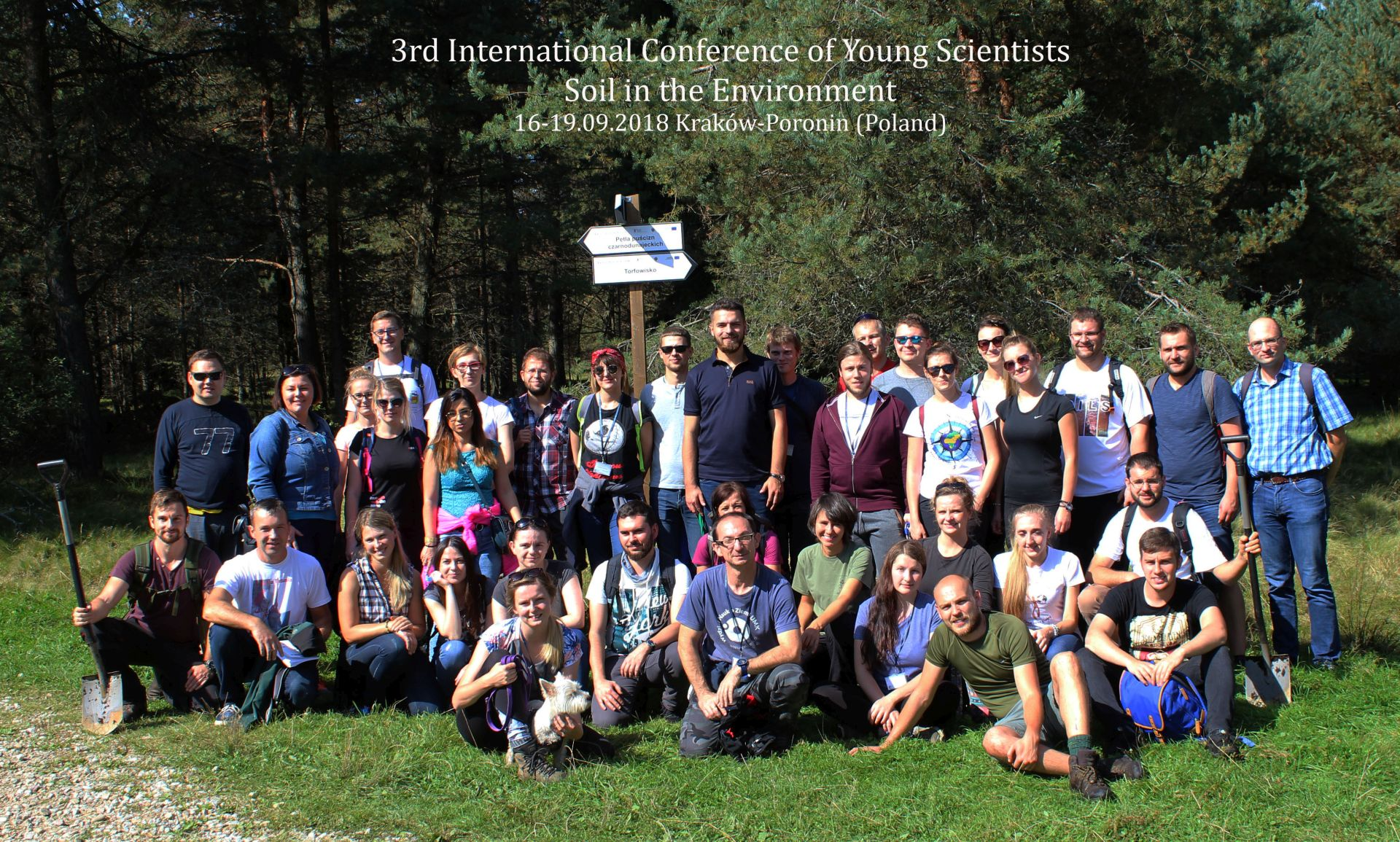 Young Soil Scientists in Poronin (Poland)