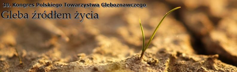 30. Congress of the Soil Science Society of Poland