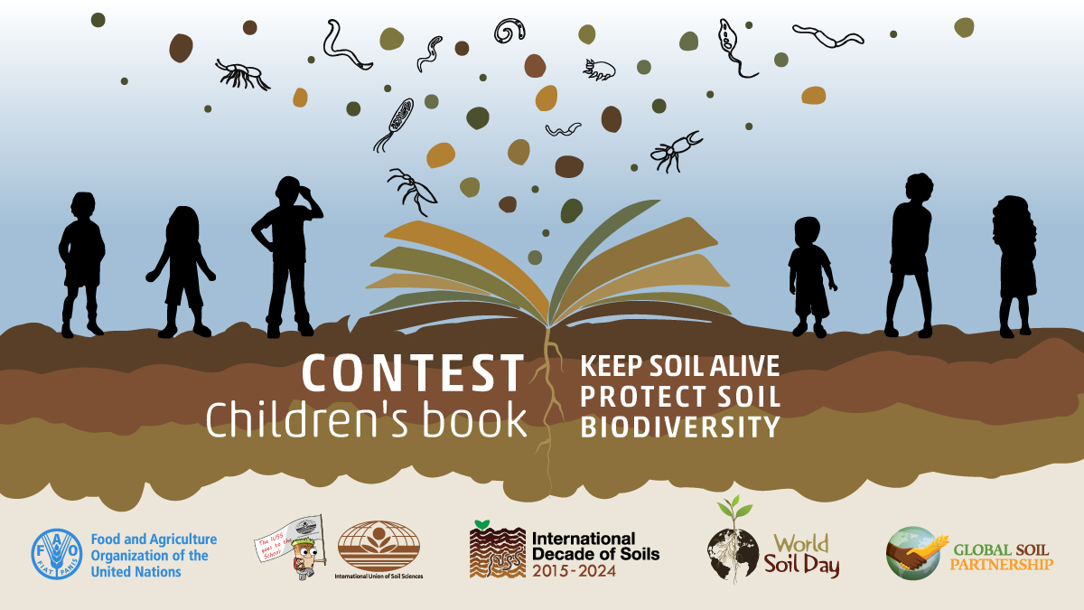 Booklet contest for children on Soil Biodiversity