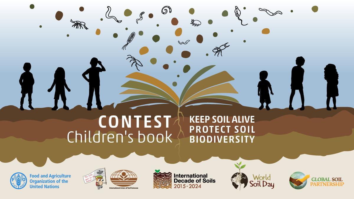 Booklet contest for children on Soil Biodiversity